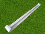 500mm Bullnose Fascia Joiner (white)
