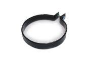 metal Coated Pipe Clip (black)