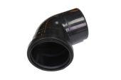 112 Deg Single Socket Bend (black)