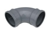 92.5 Deg Double Socket Bend (grey)