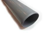 4 Metre x 110mm Plain Ended Pipe (solvent grey)