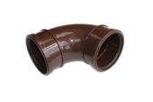 92.5 Deg Double Socket Bend (brown)