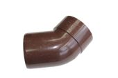 135 Deg Single Socket Bend (brown)