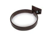 Metal Coated Pipe Clip (brown)