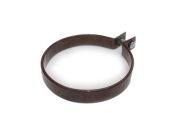 Metal Coated Pipe Clip (brown)