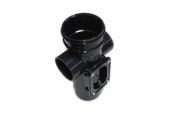 82mm Single Socket Access Pipe (black)