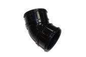 82mm x 135 Deg Bend (black)