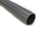 82mm Plain Ended Pipe (solvent grey)