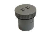 82mm Access Plug (solvent grey)
