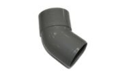 82mm x 135 Deg Offset Bend (solvent grey)