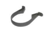 82mm Standard Pipe Clip (solvent grey)