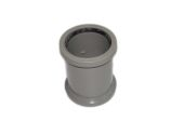 82mm Double Socket Connector (solvent grey)