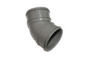 82mm x 135 Deg Bend (solvent grey)