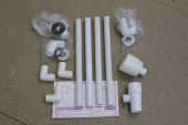 TUNPAC4 - Side Entry Overflow Concealed Cistern Kit