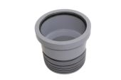 110mm Grey Drain Connector