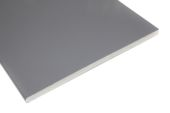 Pack of 2 x 150mm Flat Soffits (hazy grey)