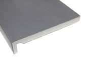 Pack of 2 x 200mm Maxi Fascia Boards (hazy grey)