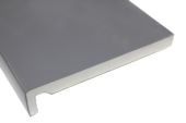 Pack of 2 x 225mm Maxi Fascia Boards (hazy grey)
