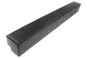 Pack of 2 x 500mm M-Boss Fascia Corners (black)