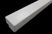 Pack of 2 x 500mm M-Boss Fascia Corners (white)