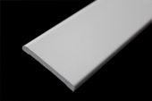 45mm x 6mm Flat Back Architrave (white woodgrain)