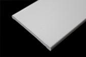 70mm x 6mm Flat Back Architrave (white woodgrain)