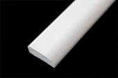 20mm x 6mm Edge Fillet (white woodgrain)