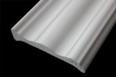 70mm Decorative Architrave (white woodgrain)