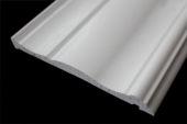 120mm Decorative Architrave (white woodgrain)