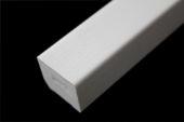 25mm x 20mm Square (white woodgrain))