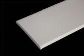 70mm x 6mm Flat Back Architrave (cream)