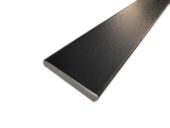 45mm x 6mm Flat Back Architrave (black woodgrain)
