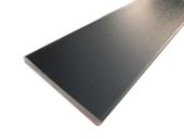 70mm x 6mm Flat Back Architrave (black woodgrain)