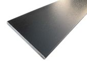 95mm x 6mm Flat Back Architrave (black woodgrain)