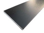 95mm x 6mm Flat Back Architrave (black woodgrain)