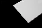 175mm x 9mm Flat Board (white woodgrain)