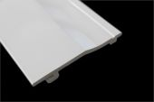 100mm Single Shiplap Cladding Panel (white)