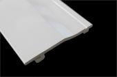 100mm Single Shiplap Cladding Panel (white)