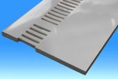 250mm Vented Soffit (white)