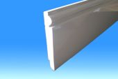 125mm x 9mm Reversible Skirting (white)