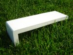 605mm Capping Fascia Board (white)
