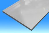 450mm Plain Soffit (white)