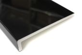 Pack of 2 x 200mm Capping Fascia Boards (black gloss)