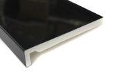 1 x 400mm Maxi Fascia Board (black gloss)