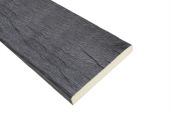3 Metre x 100mm Black Timber