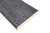 3 Metre x 150mm Black Timber