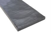 3 Metre x 200mm Black Timber