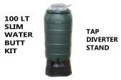 100 Litre Slimline Water Butt Kit