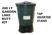 200 Litre Garden Lake Water Butt Kit