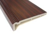 225mm Ogee Capping Fascia (mahogany)